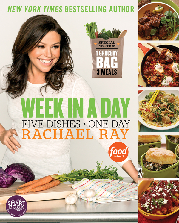 "Rachael Ray's ""Week in a Day"" cookbook cover 