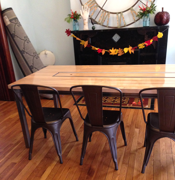 new dining room table | Burritos & Bubbly