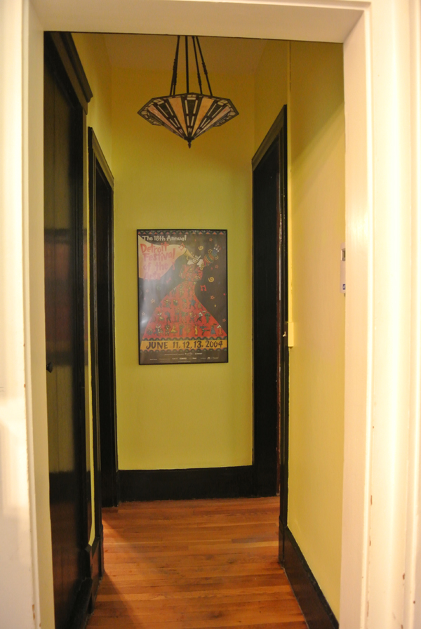 hallway before | Burritos & Bubbly
