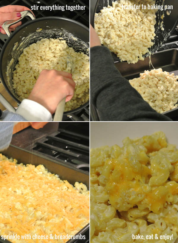 eat up: steps to mac and cheese with a kick | Burritos & Bubbly