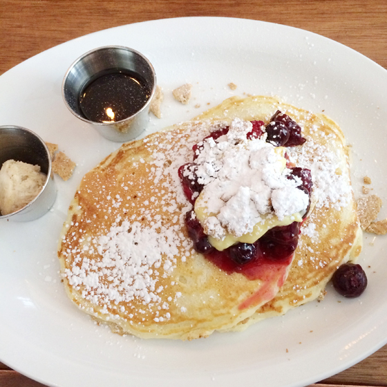 pancakes from Jack Flaps, Cleveland