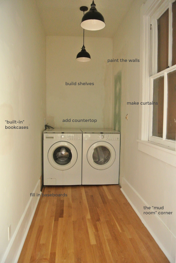 our laundry to-do list