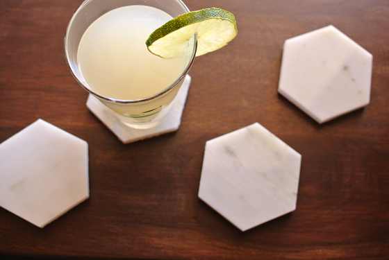 Marble coaster diy from burritos amp bubbly