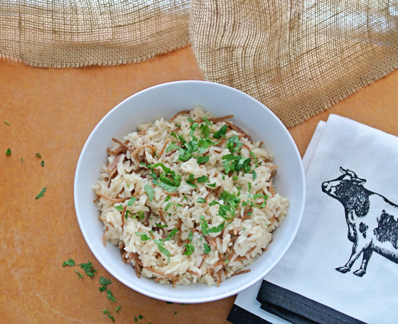 eat up: easy rice pilaf recipe