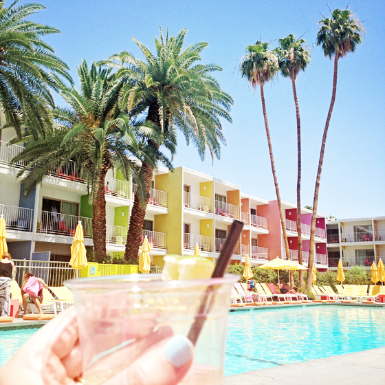 The Saguaro Hotel, Palm Springs | Burritos & Bubbly
