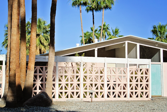 Midcentury home, Palm Springs | Burritos & Bubbly