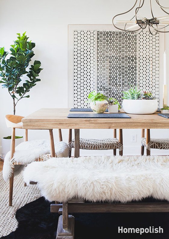 Inspiration by Homepolish: when less is so much more