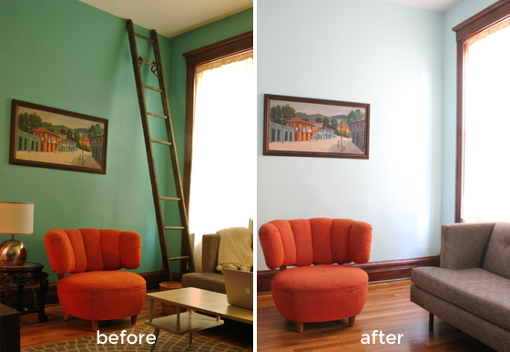rumpus room before and after