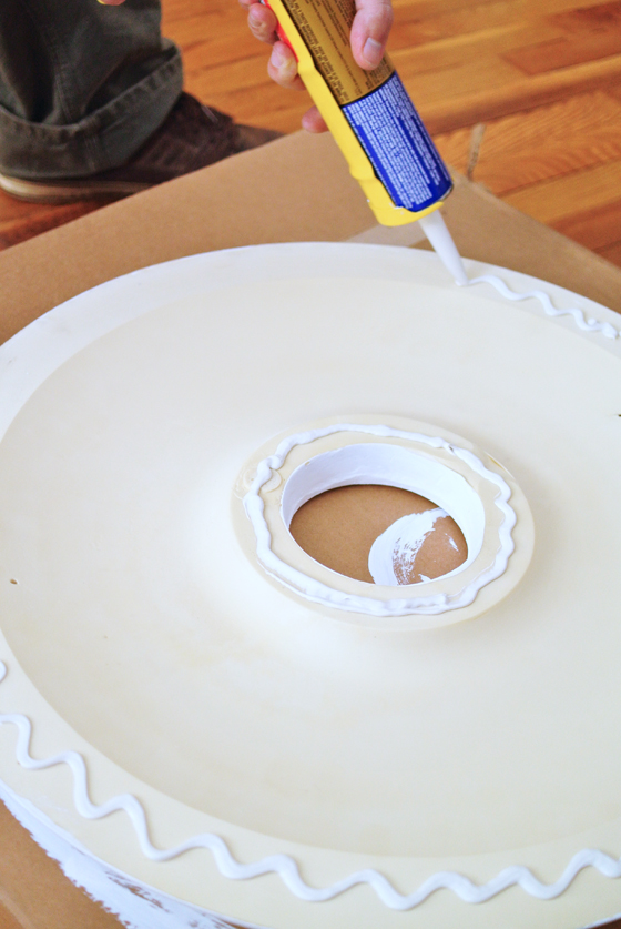 how to install a ceiling medallion, Burritos and Bubbly