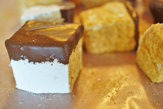 Eat up: s'more marshmallows, please! from Burritos and Bubbly