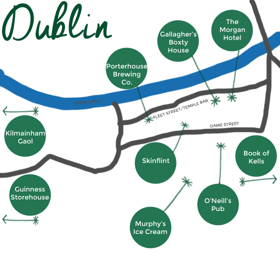 Our favorite things: three days in Dublin | Burritos and Bubbly