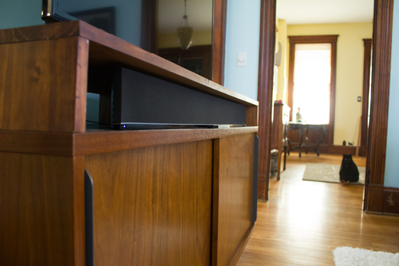 TV Stand | Burritos and Bubbly