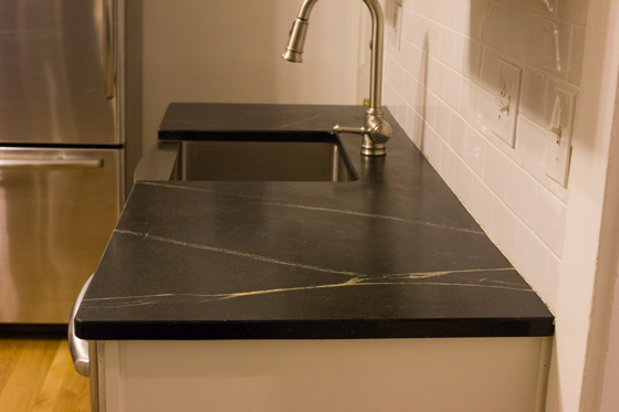 soapstone counters, one year later | Burritos and Bubbly