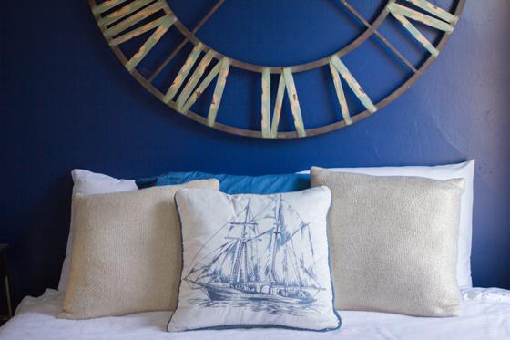 nautical guest room sneak peek