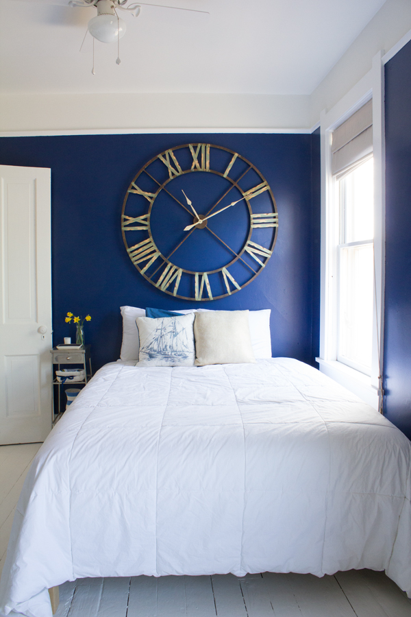 From Junk Room To Beautiful Bedroom The Big Reveal: Modern Nautical Guest Room: The Big Reveal!