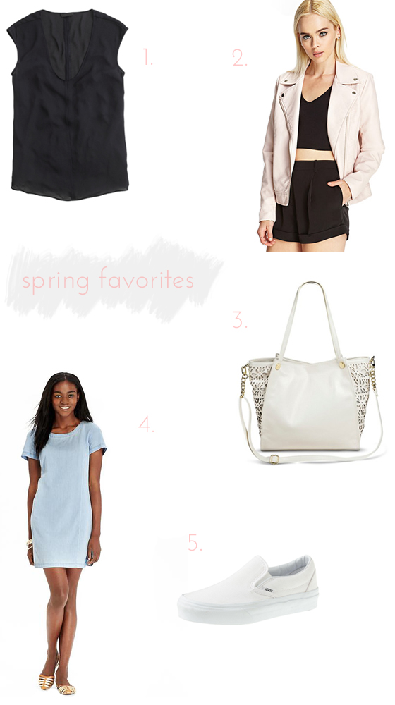spring style favorites | Burritos and Bubbly