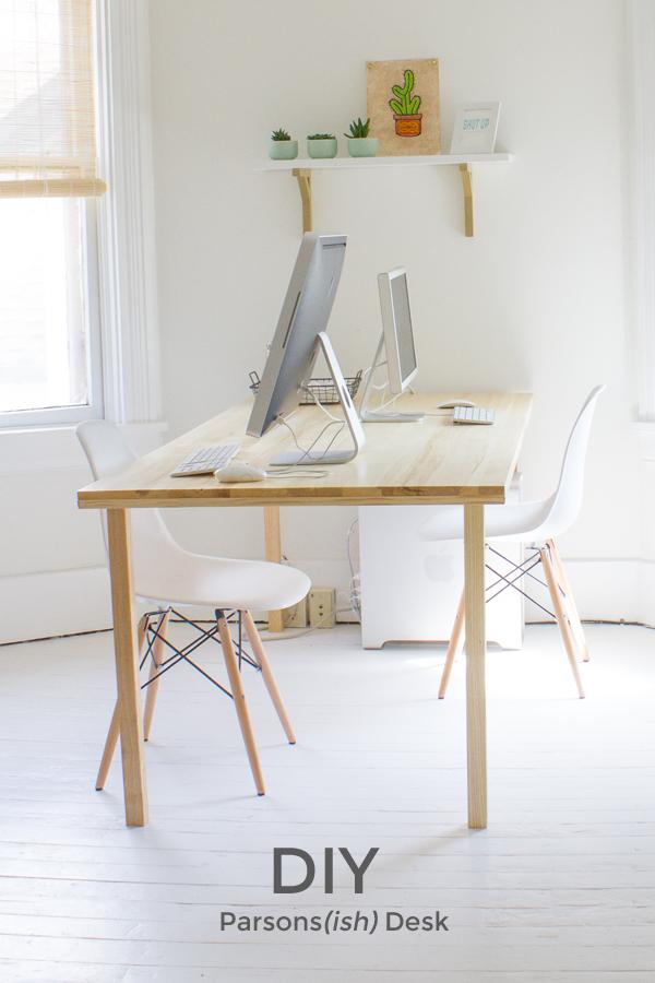 DIY Parsons(ish) Desk