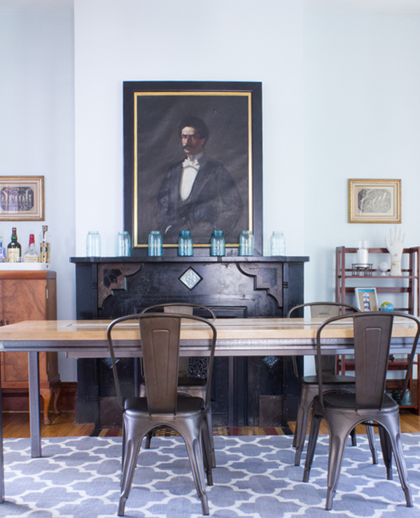 home tour: dining room | Burritos and Bubbly