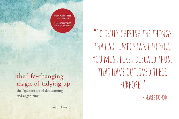 "This book will change your life: ""The Life-Changing Magic of Tidying Up"""