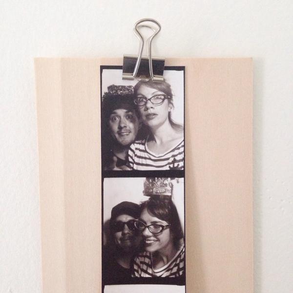 DIY photobooth frame