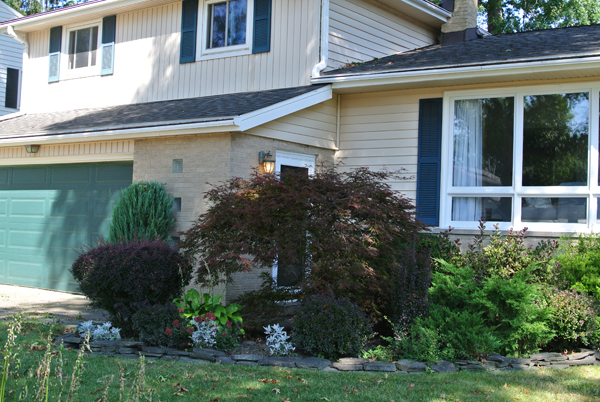 before: creating curb appeal