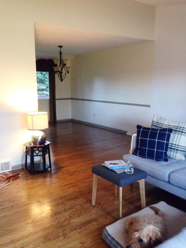 new house sneak peek: the living room