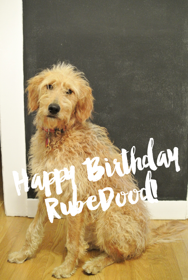 Happy Birthday Rube Dood!