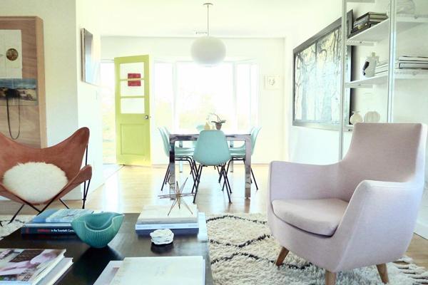 Dream House: Midcentury Pastels