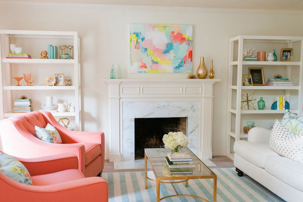 Inspiration: pink chairs