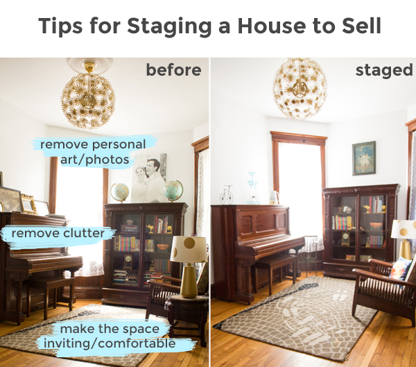 tips for staging a house to sell