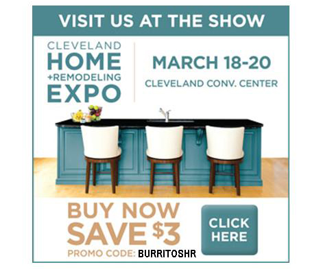 Cleveland Home + Remodeling Expo, March 18-20