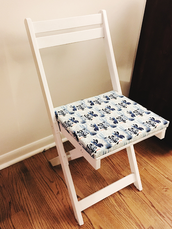 drab-to-fab chair upcycle