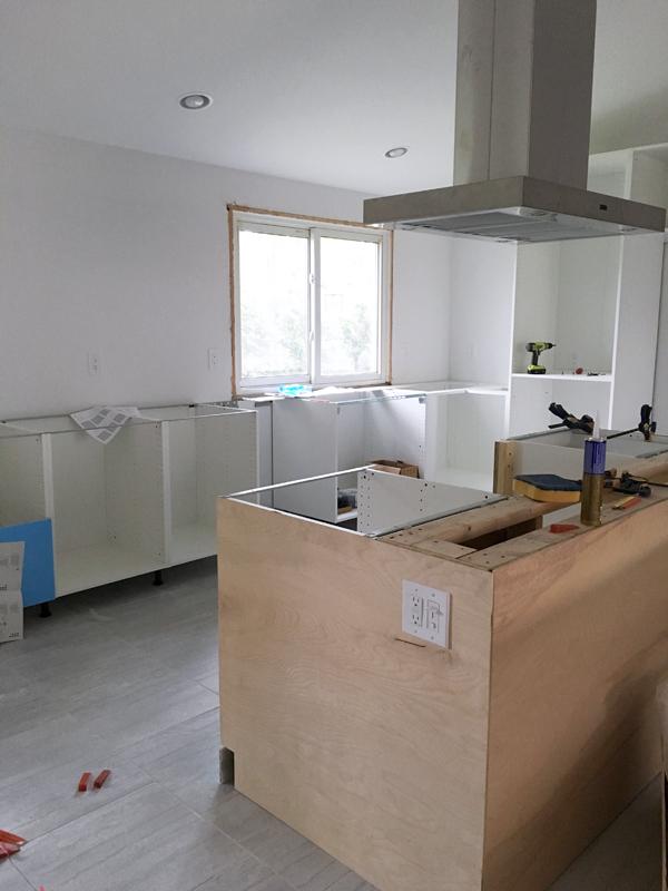 kitchen reno progress report #5
