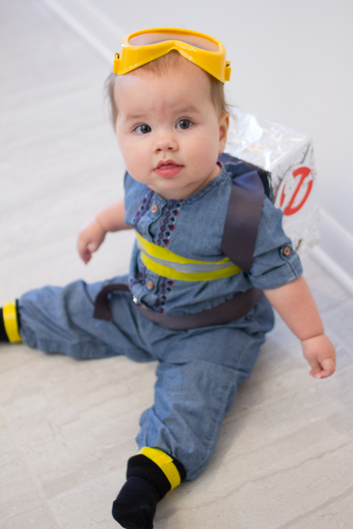 Baby Holtzmann Ghostbusters Halloween Costume