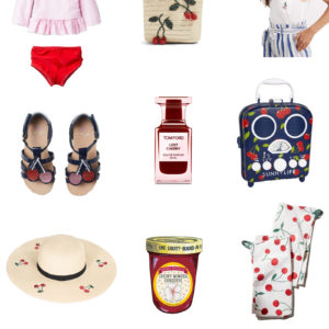 a roundup of cherry-themed items